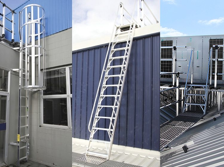 Roof Ladders Permanent Ladders For Roof Access