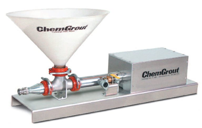 Chemgrout air powered