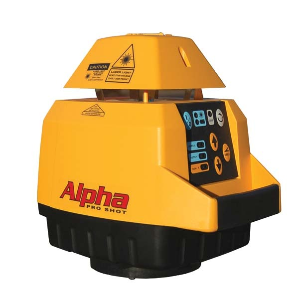 Pro Shot Alpha Laser Levels Totalsite Supplies