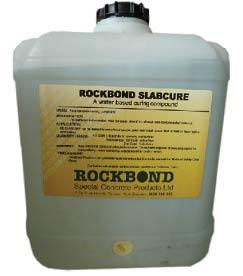 Rockbond Slab Cure Chemicals Concrete Concrete