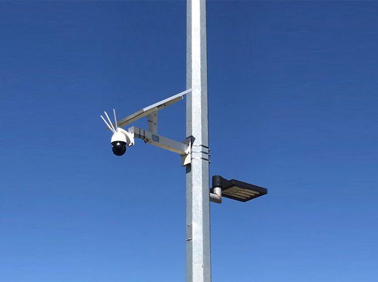 Solar Camera in use 750 x 560